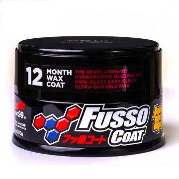 SOFT99 New Fusso Coat 12 Months Dark Wosk do ciemnego lakieru