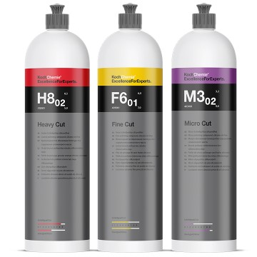 Koch Chemie Zestaw Past Polerskich M3.02 F6.01 H8 3x1L