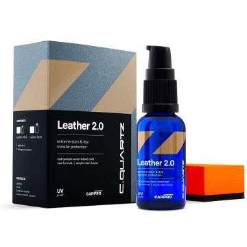 CarPro CQUARTZ Leather 2.0 – Powłoka Kwarcowa do skóry i winylu