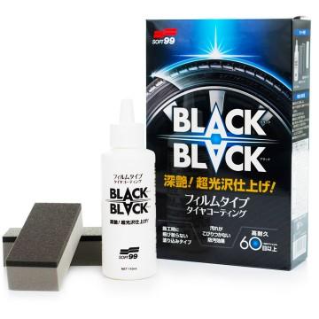 Soft99 Black Black Powłoka zabezpieczająca do opon