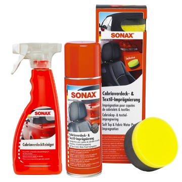 SONAX Zestaw do czyszczenia i impregnacji dachu w cabrio
