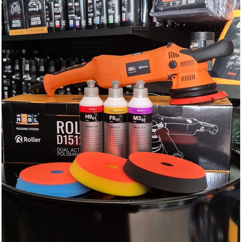 ADBL Roller D15125-01 Zestaw Polerka + Pasty + Pady
