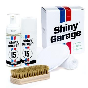 Shiny Garage Leather Kit Soft do pielęgnacji skóry