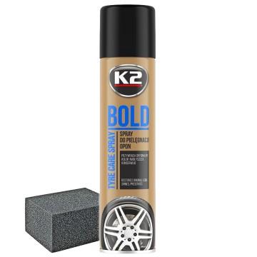 K2 Bold 600ml Pianka do nabłyszczania opon