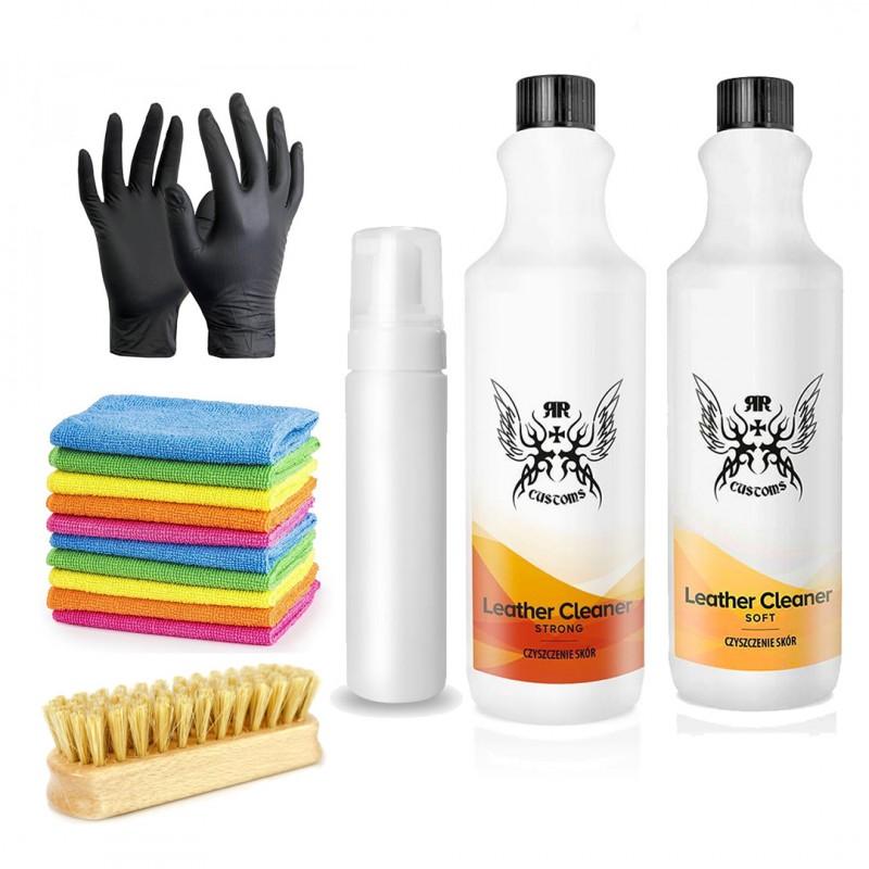 Zestaw do czyszczenia skóry RR Customs 2000 ml