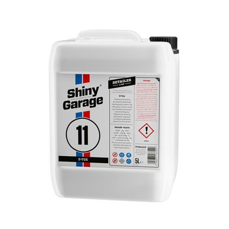 Shiny Garage D-Tox Iron&Fallout Remover 5l