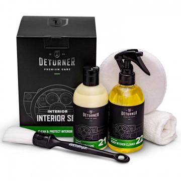 DETURNER Interior Set Zestaw do czyszczenia i konserwacji wnętrza samochodu
