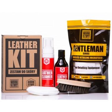 GOOD STUFF Leather KiT kompletny zestaw do pielęgnacji skóry