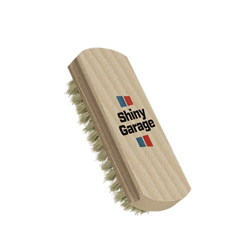SHINY GARAGE LEATHER Brush - Szczoteczka do skórzanej tapicerki