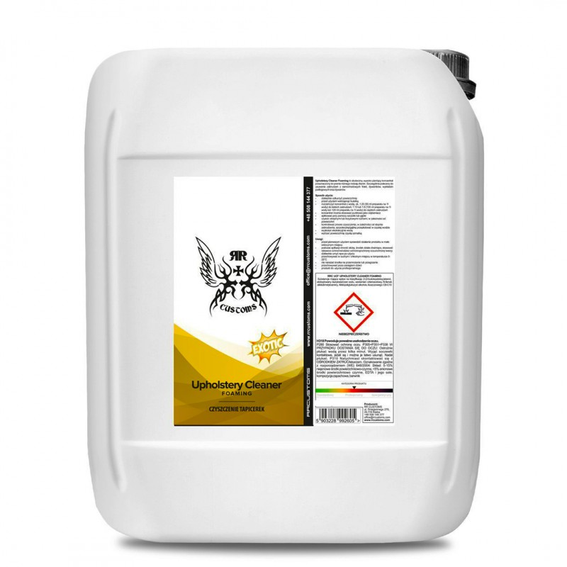 RRC CarWash UPHOLSTERY CLEANER FOAMING 5l