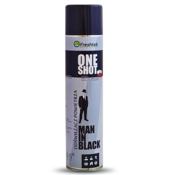 Freshtek One Shot Man in Black Neutralizator zapachów