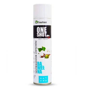 Freshtek One Shot BAWEŁNA 600ml Neutralizator zapachów