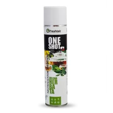 Freshtek One Shot Zielona Herbata 600ml Neutralizator zapachów