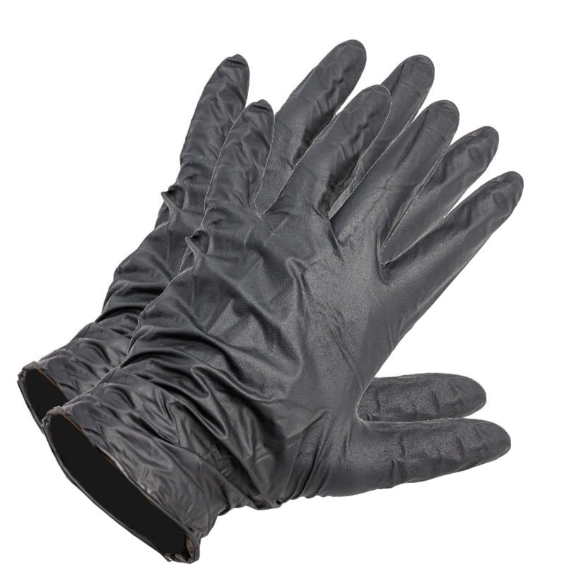 Rękawiczki gumowe rozmiar XL (9-10 ) - Para 2 sztuki