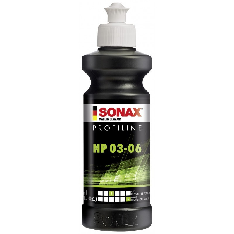 SONAX Profiline NP 03-06 Pasta polerska 250ml